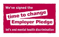 We've signed the time to change Employer Pledge - let's end mental health discrimination