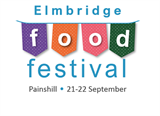 Food Festival logo promotion