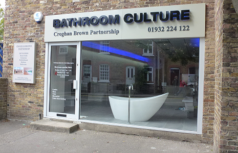 Image of new shop frontage after business grant