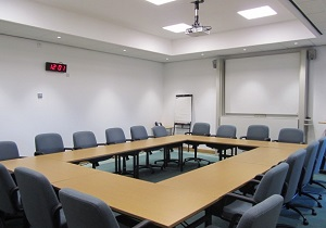 Committee room in the Civic Centre
