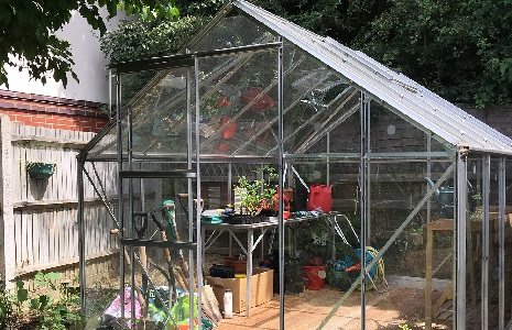 Image of the Molesey Community Garden Greenhouse