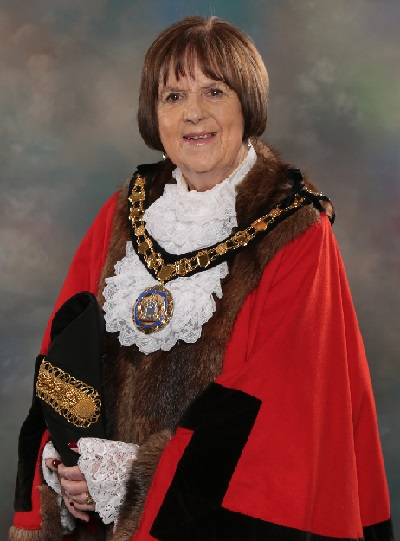 Mayoral Portrait official - Cllr Mary Sheldon