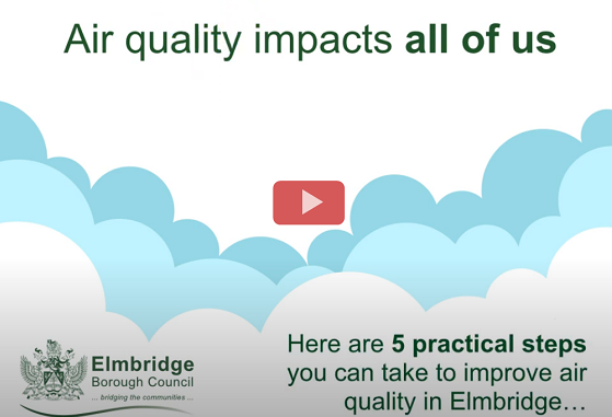 5 steps to improve air quality in Elmbridge video screenshot